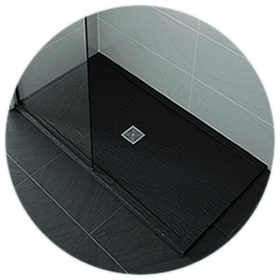 Black Shower Trays
