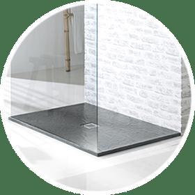 Grey Shower Trays