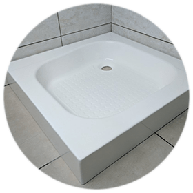 High Wall Shower Trays