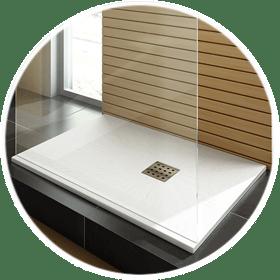 White Shower Trays