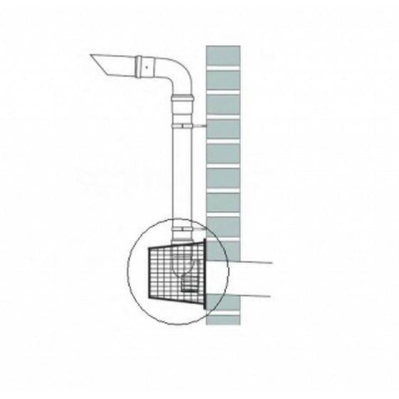 Baxi Multifit Stainless Plume Kit Terminal Intake Guard 720644601
