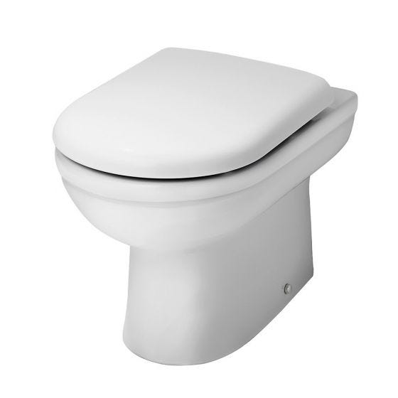 Nuie Ivo Comfort Height Back to Wall Toilet