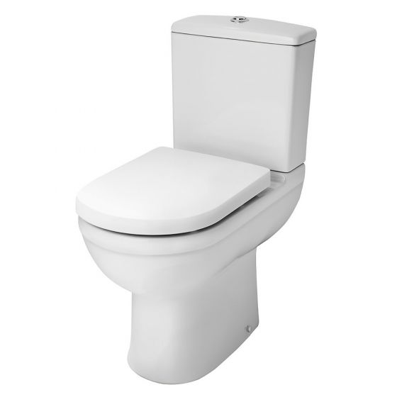 Nuie Ivo Comfort Height Close Coupled Toilet