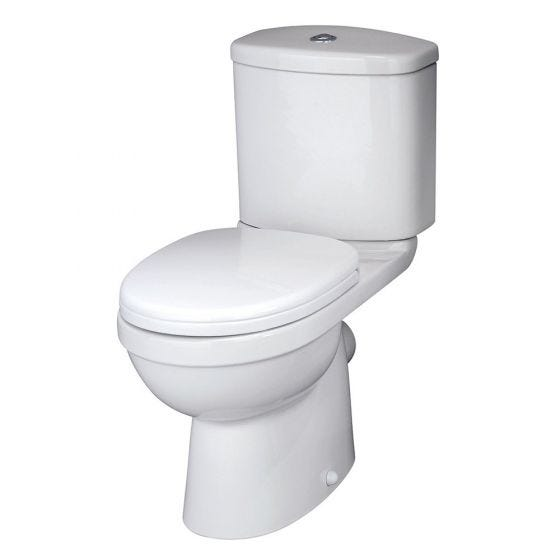 Nuie Ivo Close Coupled Toilet With Soft Close Seat