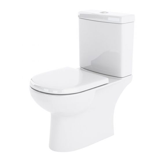 Nuie Lawton Compact Close Coupled Toilet
