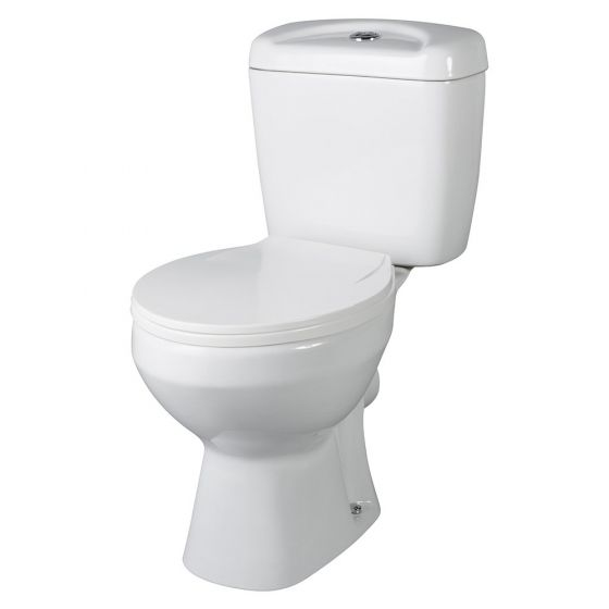 Nuie Melbourne Close Coupled Toilet With Seat
