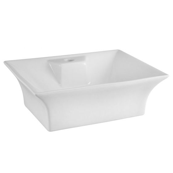 Nuie 460mm 1 Tap Hole Square Counter Top Vessel Basin