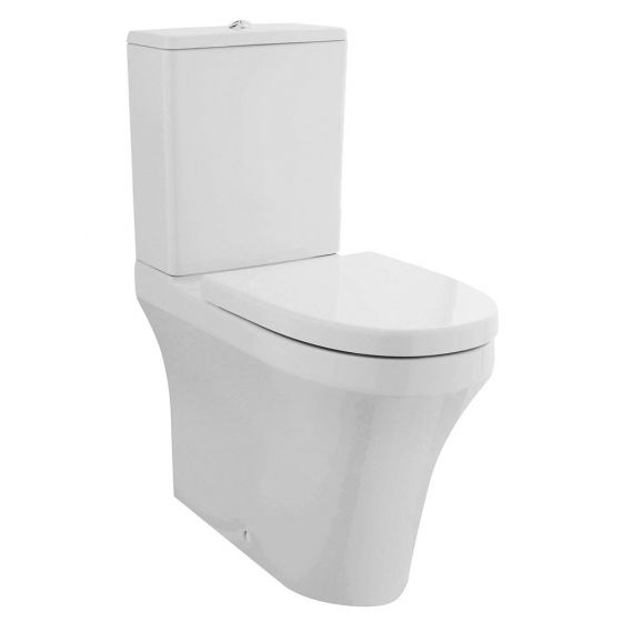 Nuie Rimless Back To Wall Toilet & Seat