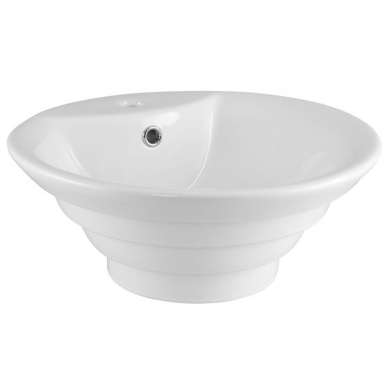 Nuie 460mm 1 Tap Hole Round Counter Top Vessel Basin
