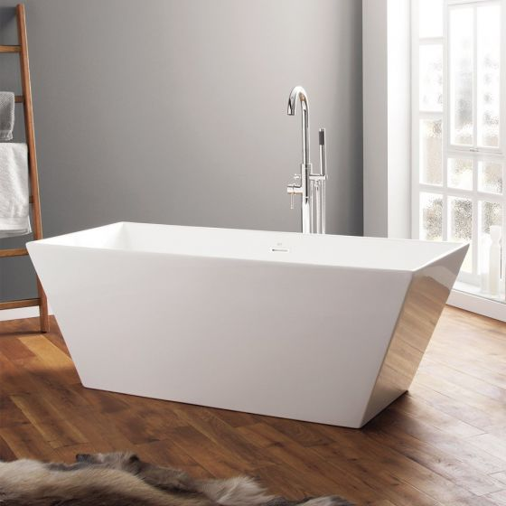 April Airton Contemporary Freestanding Bath 1650mm x 650mm