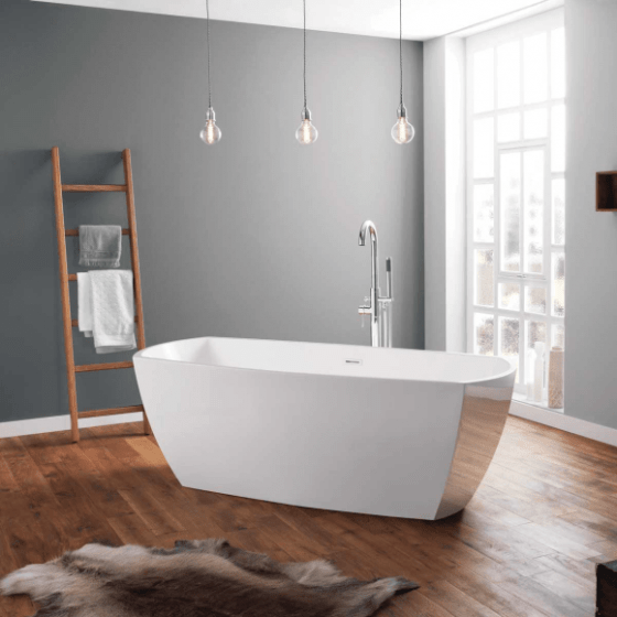 April Anston Contemporary Freestanding Bath 1750mm x 750mm