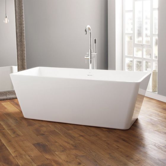 April Boston Contemporary Freestanding Bath 1700mm x 750mm