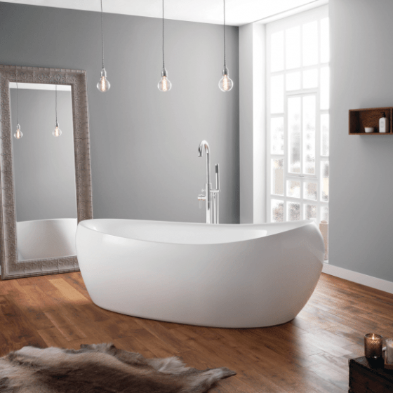 April Horbury Contemporary Freestanding Bath 1750mm x 830mm