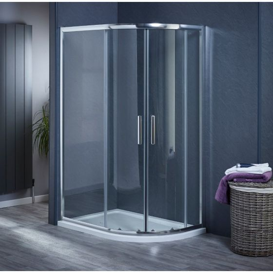 Aqua-I6 Offset Quadrant Shower Enclosure 900mm x 760mm x 1850mm High