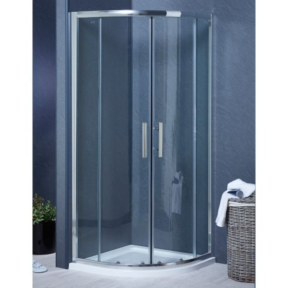 Aqua-I6 Quadrant Shower Enclosure 1000mm x 1000mm x 1850mm High