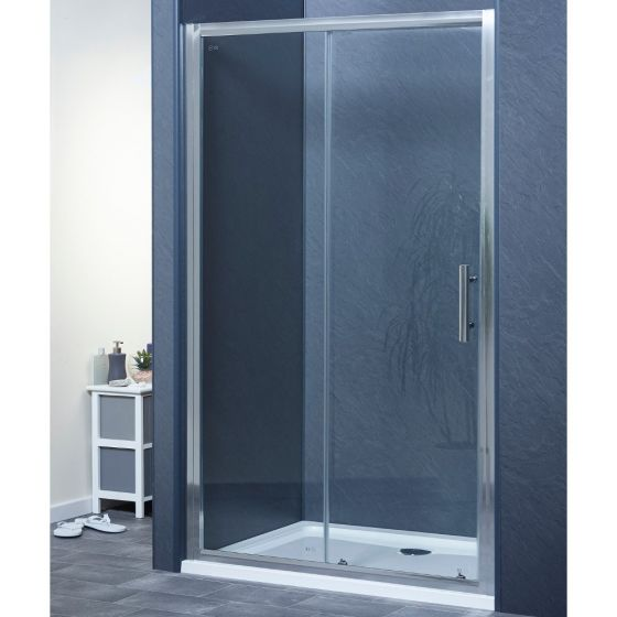 Aqua-I6 Single Sliding Shower Door 1500mm x 1850mm High