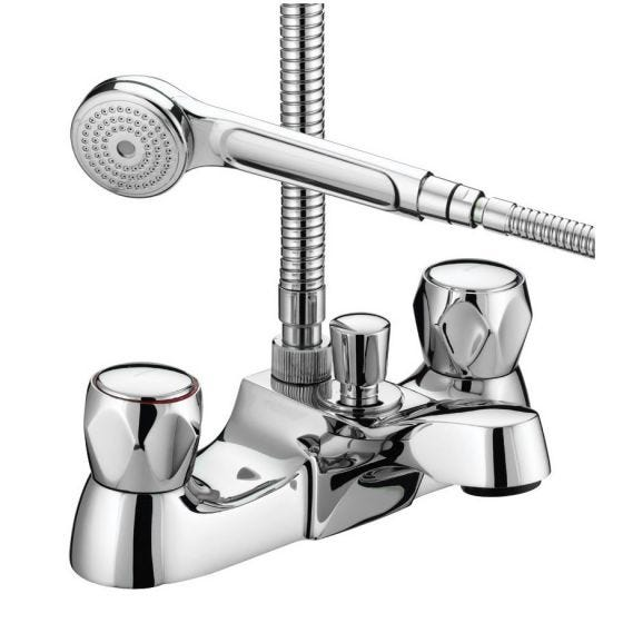 Bristan Club Luxury Bath Shower Mixer with Kit