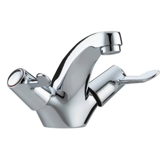 "Bristan Lever Basin Mixer 3"" Lever with Pop-up waste"