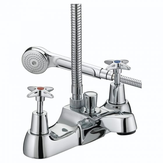 Bristan X-Head Bath Shower Mixer with Kit