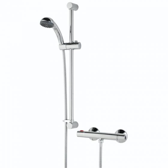 Bristan Zing Bar Cool Touch Shower with Riser Kit and Handset