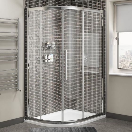 Cassellie Cass Eight Offset Quadrant Shower Enclosure 1000mm x 800mm