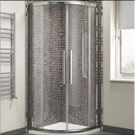 Cassellie Cass Eight Quadrant Shower Enclosure 900mm x 900mm