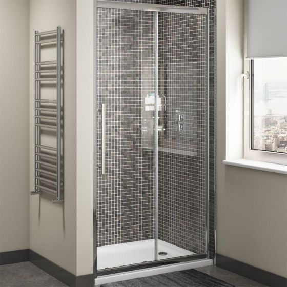 Cassellie Cass Eight 8mm Sliding Shower Door 1400mm