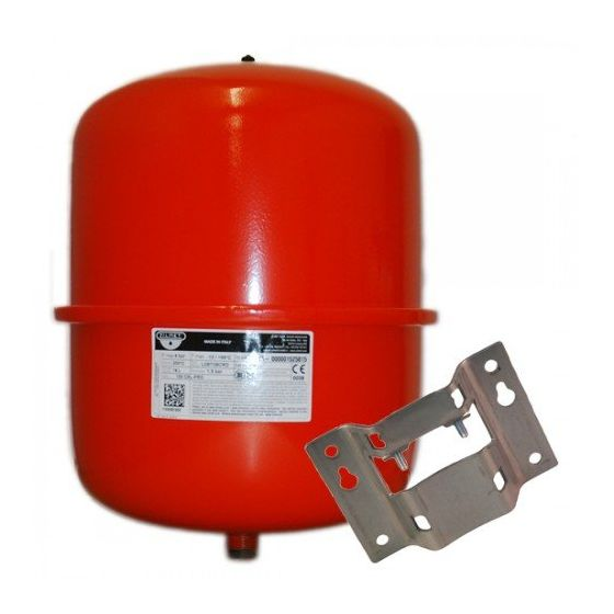 25 Litre Central Heating Expansion Vessel and Bracket