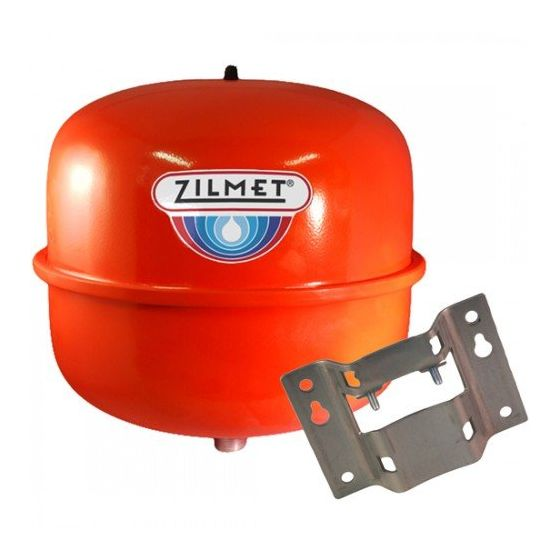 12 Litre Central Heating Expansion Vessel and Bracket