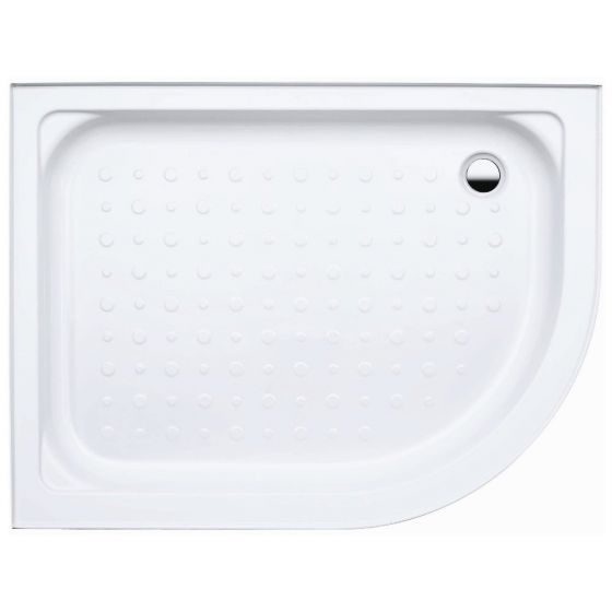 Coram Waterguard Riser Shower Tray 1200mm x 800mm Offset Quadrant Left Hand