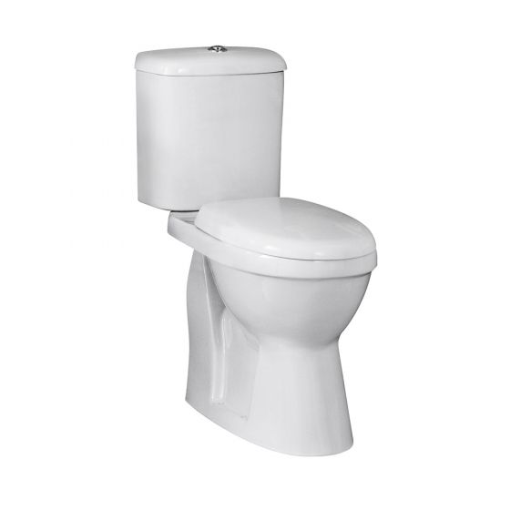 Nuie Doc M Comfort Height Toilet Dual Flush