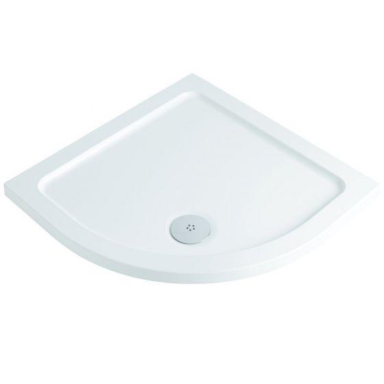 Durastone Low Profile Shower Tray Quadrant 800mm x 800mm