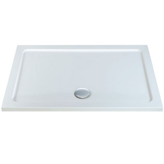 Durastone Low Profile Shower Tray Rectangle 1600mm x 800mm