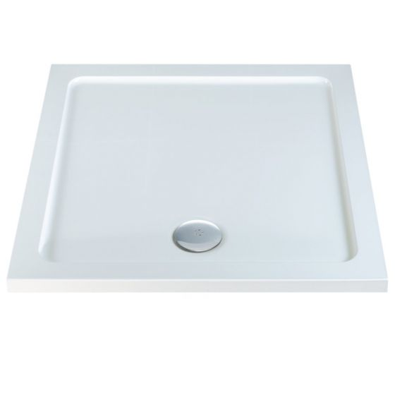 Durastone Low Profile Shower Tray Square 1000mm x 1000mm