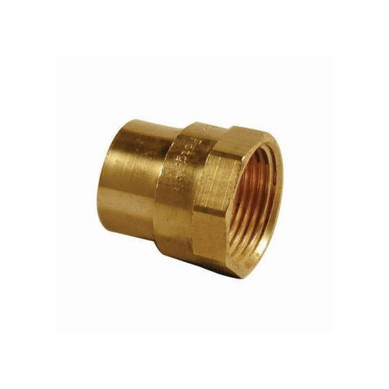 """End Feed Female Iron Coupler 15mm x 1/4"""""""