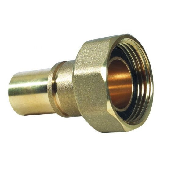 """Gas Meter Union 1"""" x 22mm Grooved Fitting"""