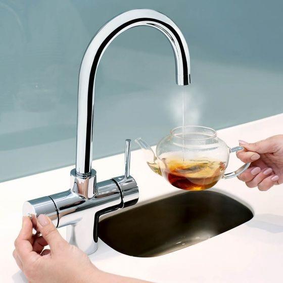 Bristan Gallery Rapid 3 in 1 Boiling Water Sink Mixer Tap