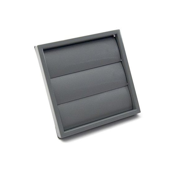 """Gravity Wall Grille 100mm / 4"""" - Grey"""