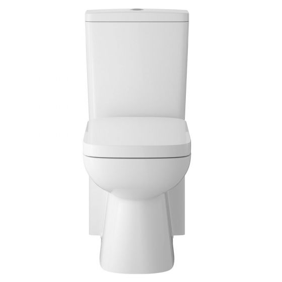 Hudson Reed Arlo Flush to Wall Pan with Cistern & Soft Close Seat