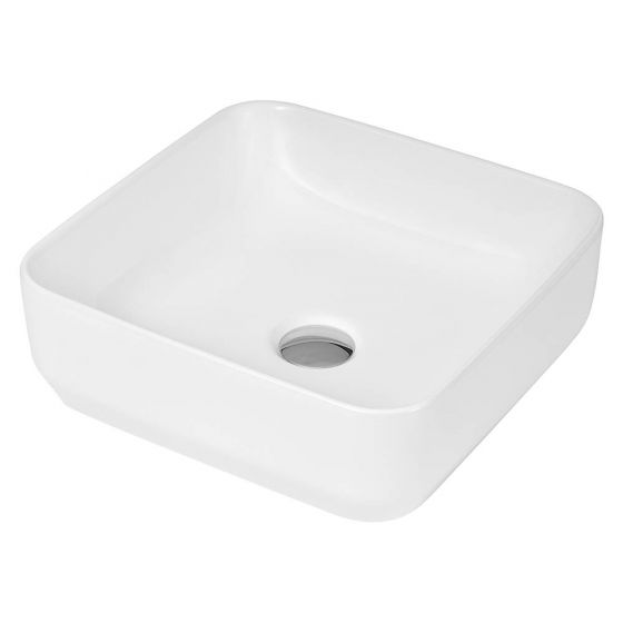 Hudson Reed Square 365mm Countertop Vessel Basin