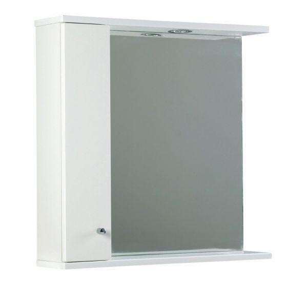 Ikoma Pearl Grey Matt 750mm Mirror, Unit and Light