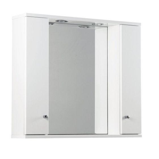 Ikoma Pearl Grey Matt 850mm Mirror, Unit and Light