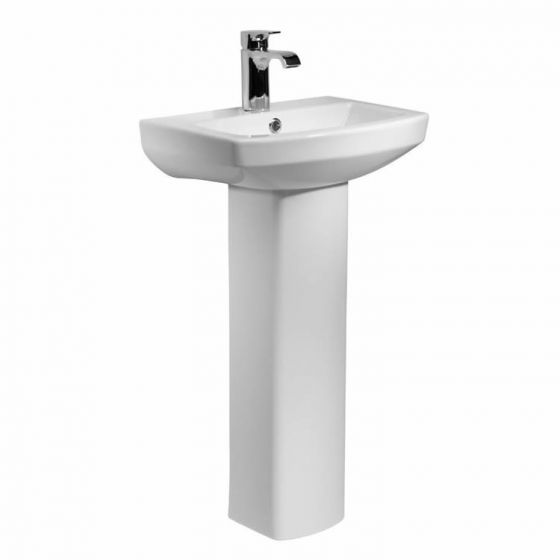 Kartell Aspect 460mm 1 Tap Hole Basin and Pedestal
