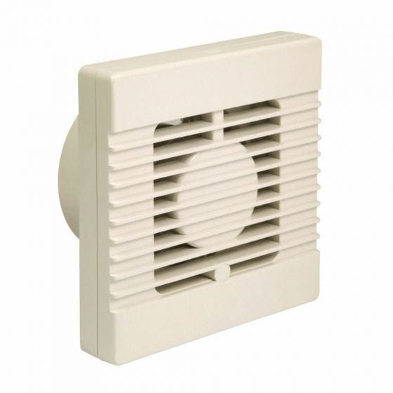 Manrose Pull Cord Extractor Fan 100mm / 4""