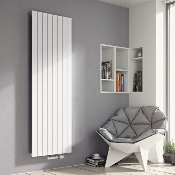 Eucotherm White Mars Single Radiator 1800mm x 295mm