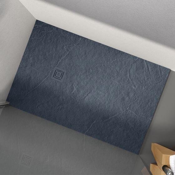Merlyn Truestone Rectangular Shower Tray 1700mm x 900mm - Slate Black