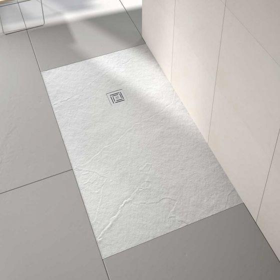 Merlyn Truestone Rectangular Shower Tray 1600mm x 900mm - White