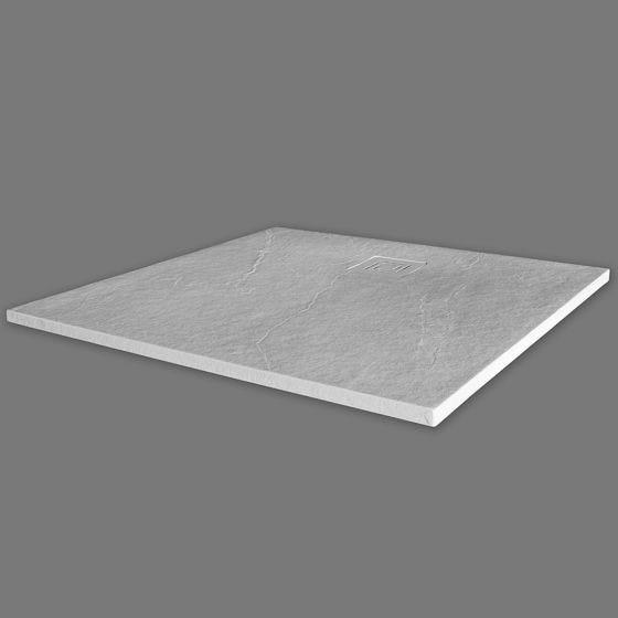 Merlyn Truestone Square Shower Tray 900mm x 900mm - White