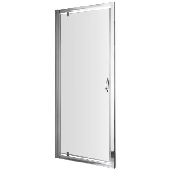 Nuie Ella 900mm Pivot Shower Door