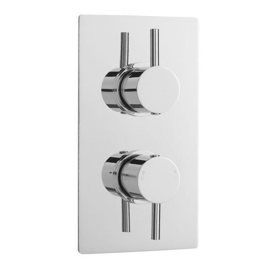 Nuie Quest Twin Thermostatic Shower Valve